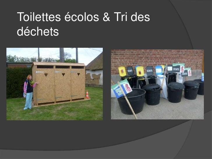 Toilettes écolos & Tri des déchets<br />