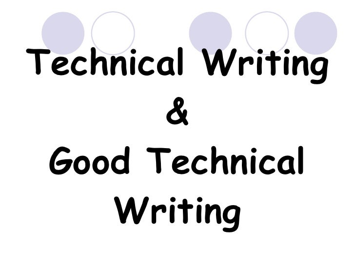 Similarities of creative writing and technical writing
