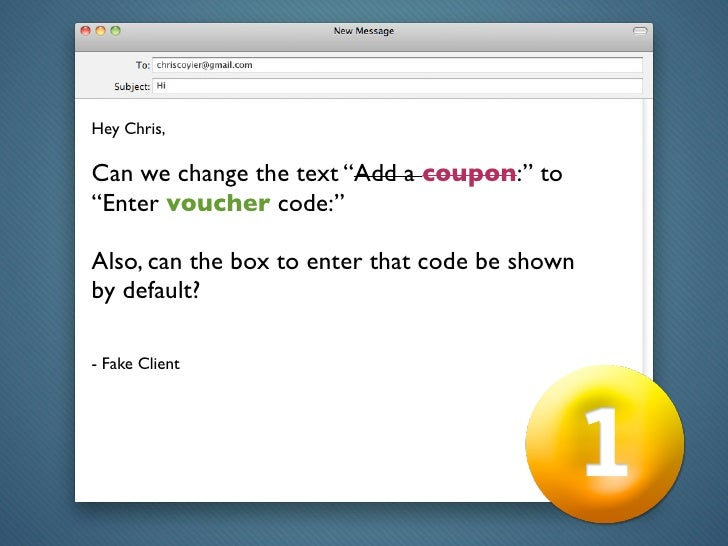 Solving Common Client Requets with jQuery Slide 3