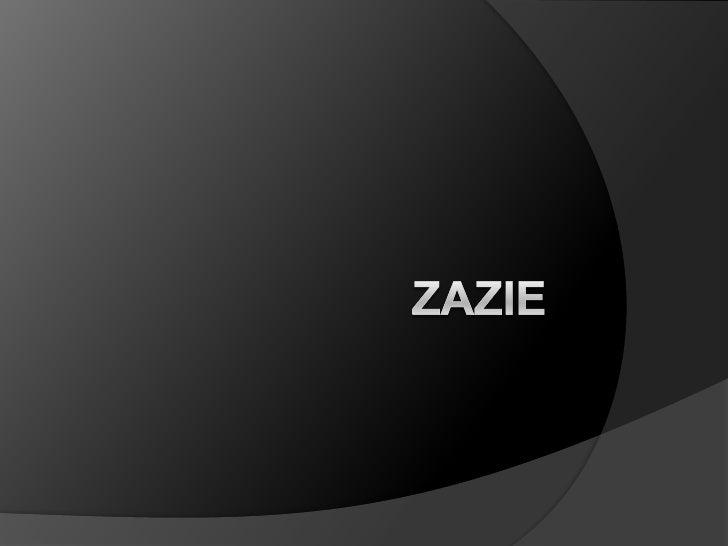 Zazie<br />