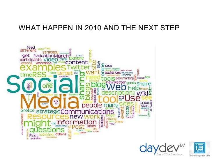 WHAT HAPPEN IN 2010 AND THE NEXT STEP