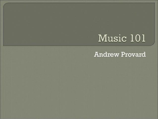 Andrew Provard