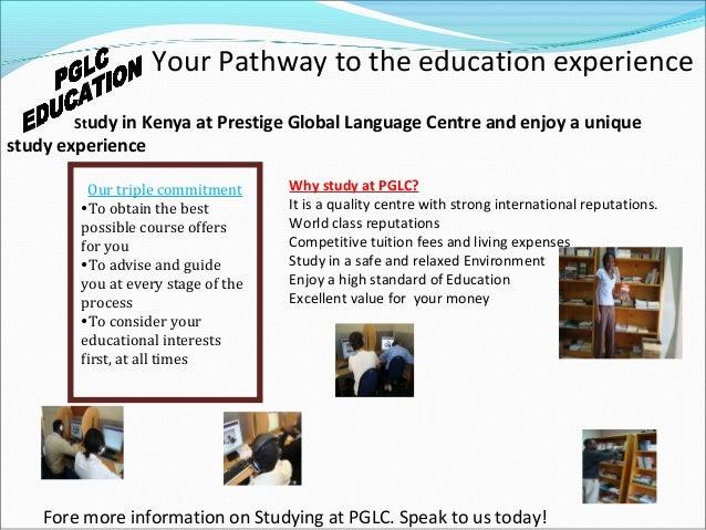 PRESTIGE GLOBAL LANGUAGE CENTRE - Global language course