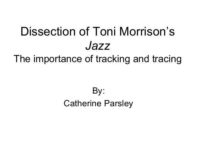 Dissection of Toni Morrison's Jazz The importance of tracking and tracing By: Catherine Parsley
