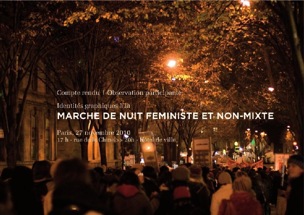 Marche de nuit féministe et non-mixte