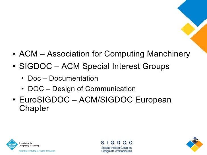 OSDOC 2010 Welcome Slide 3