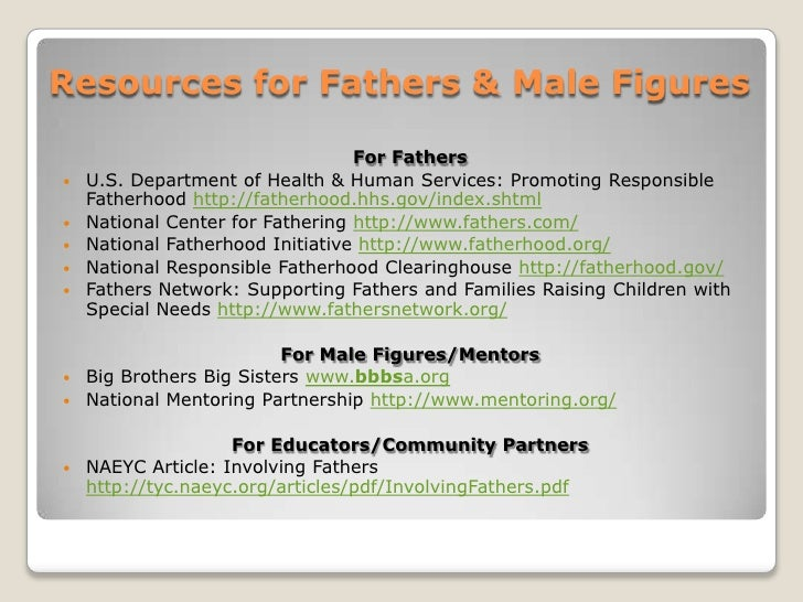 the importance of a father figure in the family This briefing specifically explores the role of fathers and focuses  figure  longitudinal studies of men in more chaotic and conflict-ridden family  circumstances.