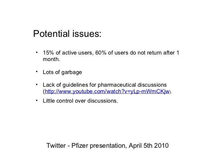 A Business-Level Strategy: Pfizer Inc