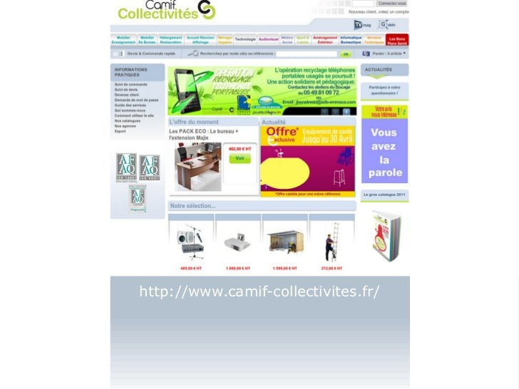 http://www.camif-collectivites.fr/