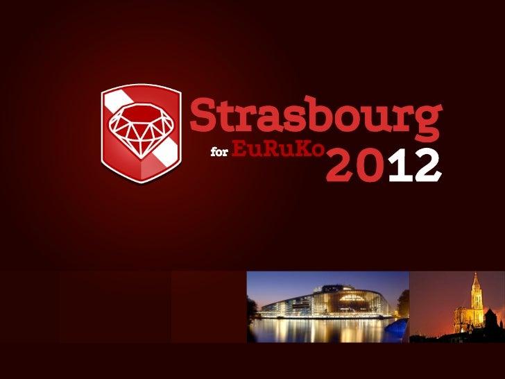 Strasbourg  EuRuKo for         2012