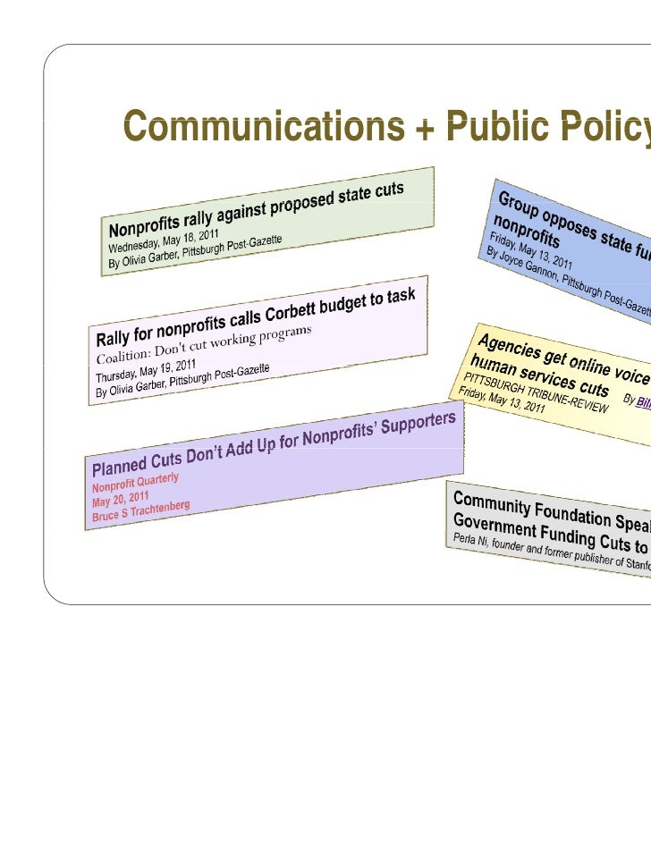 Communications + Public Policy