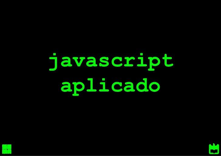 javascript aplicado