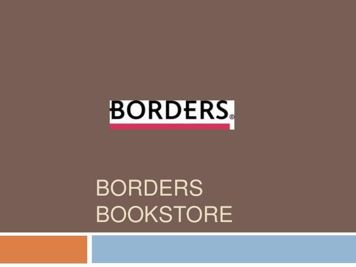 Borders Bookstore<br />