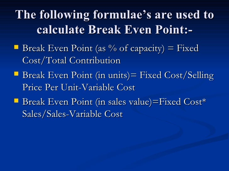 pricing break even and marginal analysis Assumptions and limitations of break-even analysis 4 break-even analysis | cost accounting increase in selling price (b) reduce marginal cost by efficient.