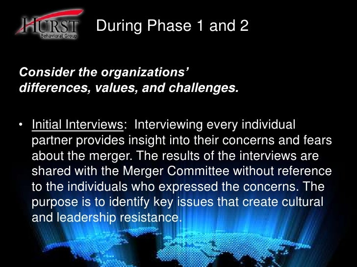 HR Challenges in Mergers and Acquisitions