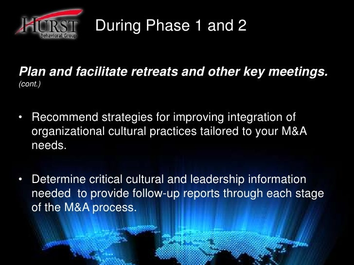 describing the challenges of cultural differences during mergers and acquisitions Culture, and communication that can affect the process of a merger or an acquisition in a positive or negative direction unfortunately, however popular the practice of mergers.