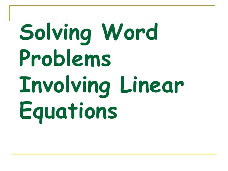 Linear Equations and Inequalities in One Variable – Linear Inequalities Word Problems Worksheet