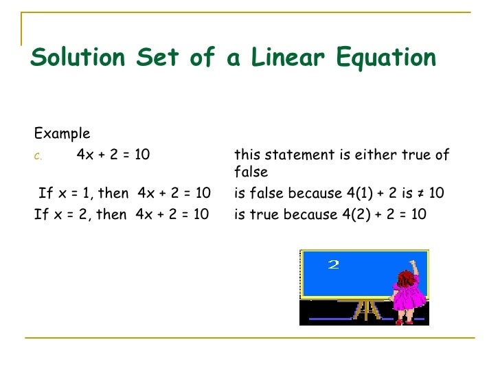 solution of linear equations pdf