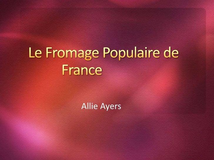 Allie Ayers