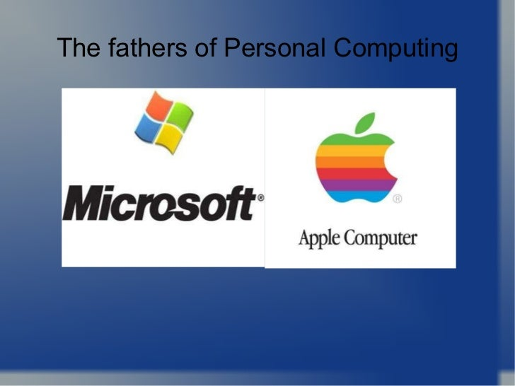 The fathers of Personal Computing
