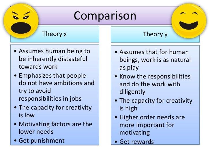 motivation theory x essay