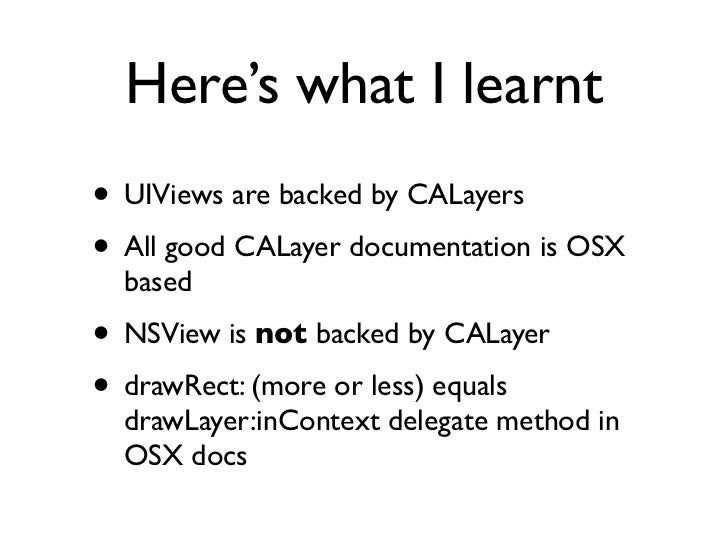 UIScrollView zoomScale vs.         CATiledLayer LODB• zoomScale is measured on a linear scale• zoomScale has an exponentia...