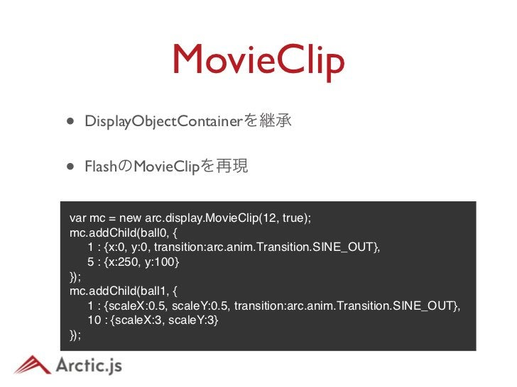 MovieClip• DEMO