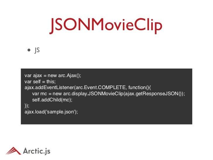 JSONMovieClip• DEMO