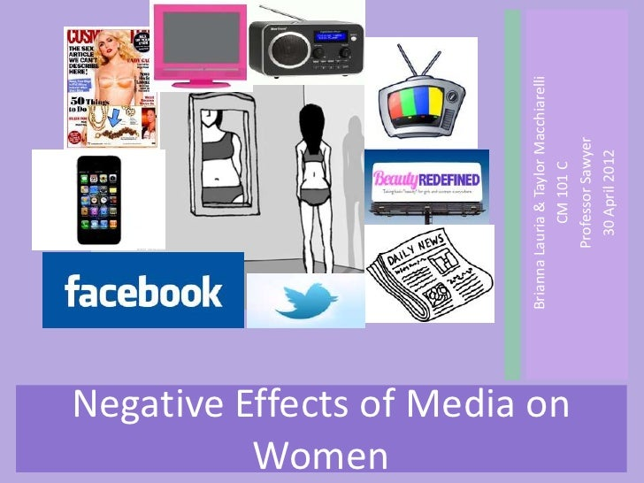 Women                               Brianna Lauria & Taylor MacchiarelliNegative Effects of Media on                      ...