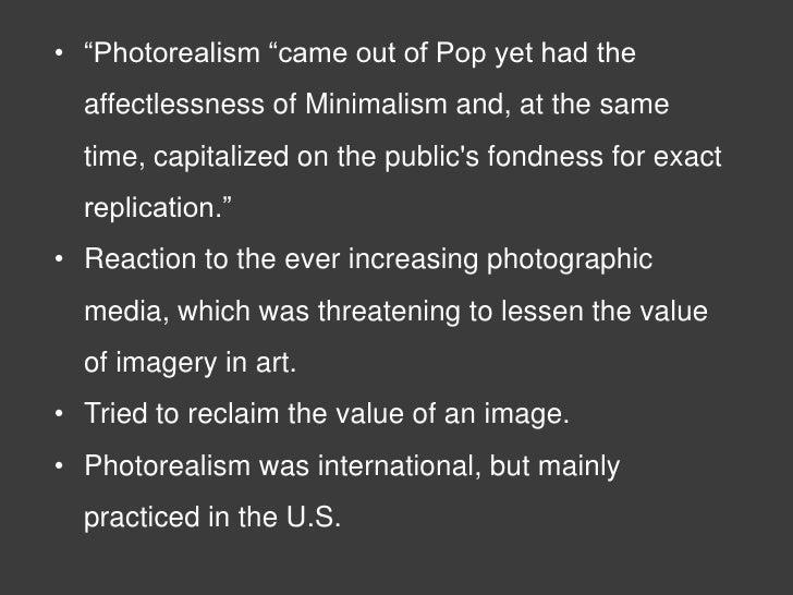 Presentation for Minimal art slideshare