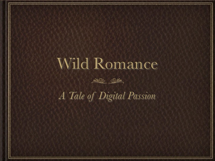 Wild RomanceA Tale of Digital Passion