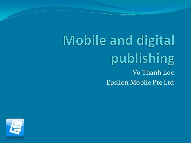 Vo Thanh LocEpsilon Mobile Pte Ltd