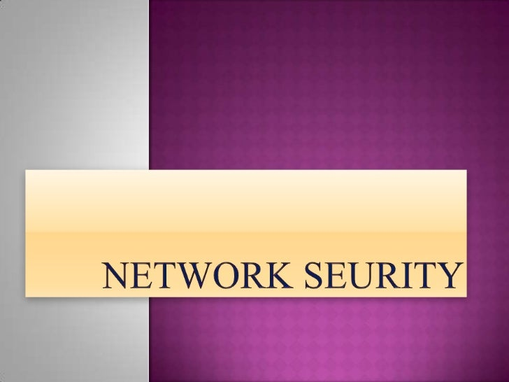  Introduction to Network security. Need For Network Security. Types Of Network Security. Tools For Network Security.