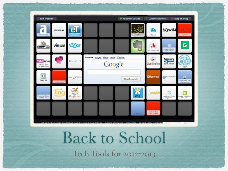 Back to School Tech Tools for 2012-2013