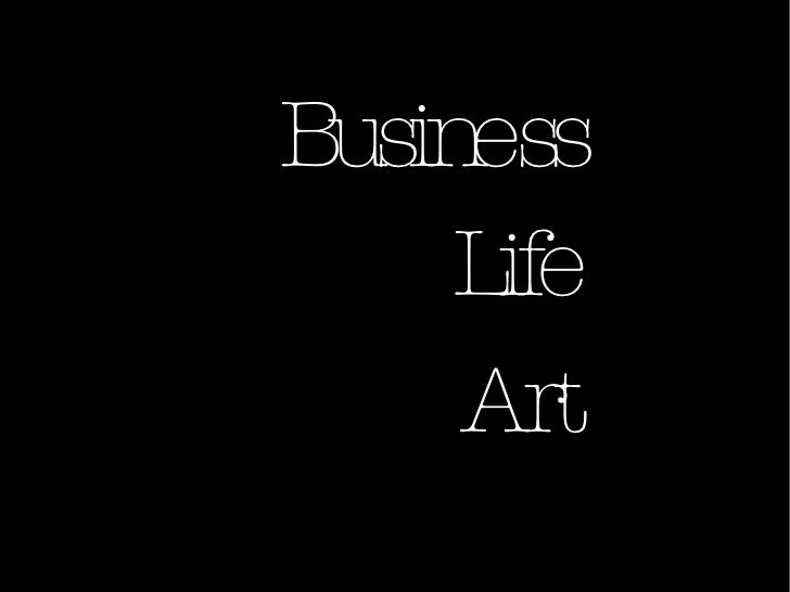 Business Life Art
