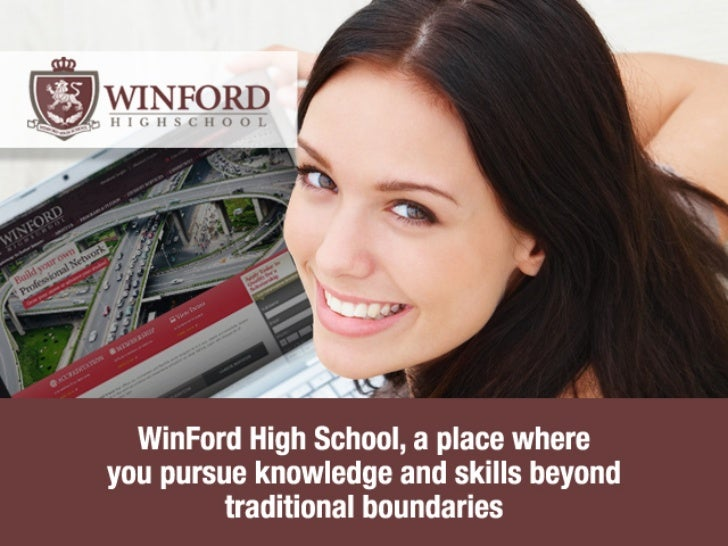 WinFord High School provides you the best! Always!