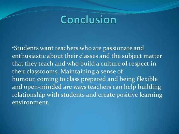 qualities of an effective teacher