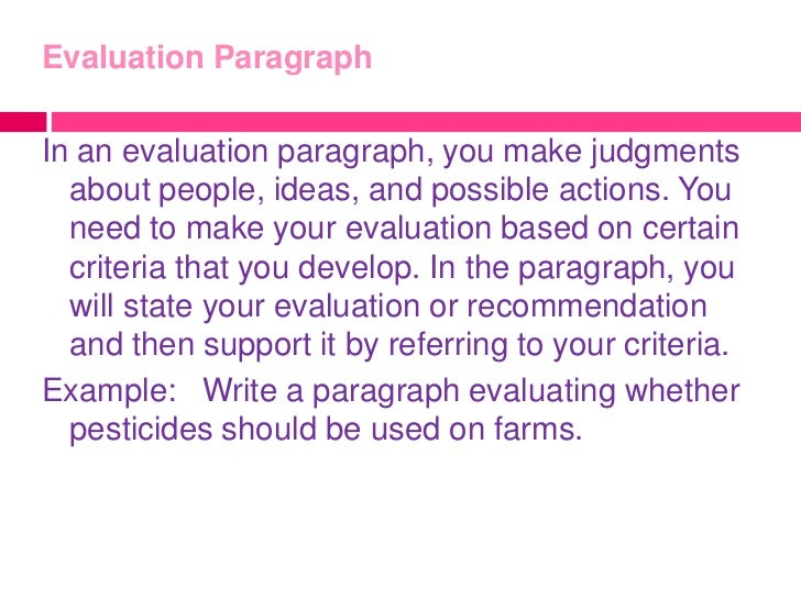 definition paragraph Essays - largest database of quality sample essays and research papers on examples of definition paragraph.