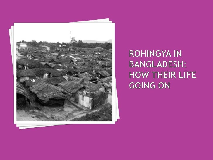 """   """"I was born in Burma but the Burmese government says I    don""""t belong there. I grew up in Bangladesh. But Bangladesh ..."""