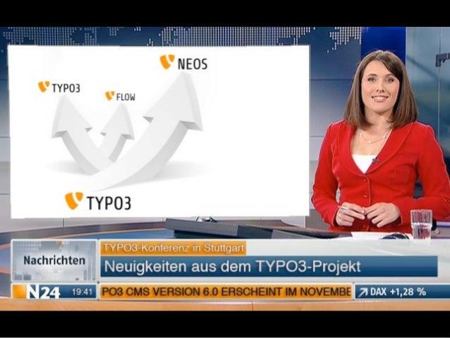 Neuigkeiten aus dem TYPO3-Projekt