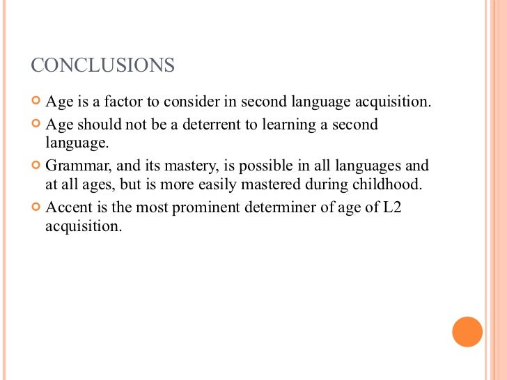 Benefits of learning a second language at an early age ...