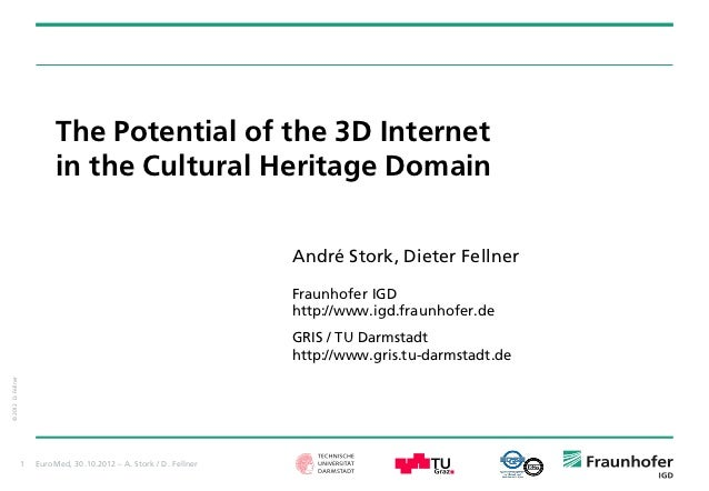 The Potential of the 3D Internet                             in the Cultural Heritage Domain                              ...