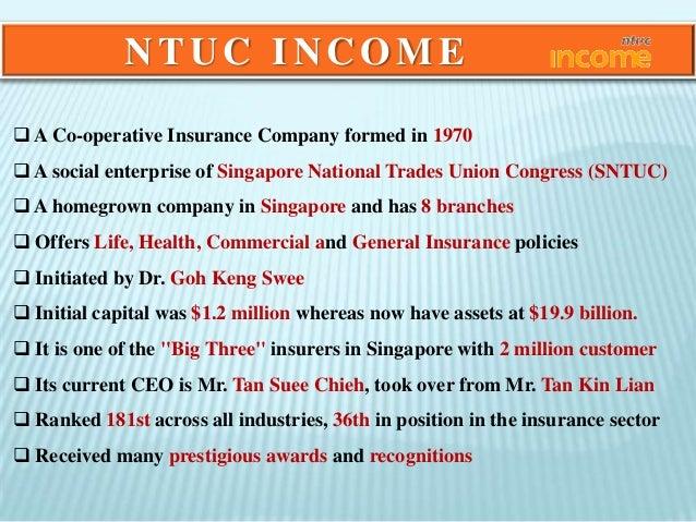 modernization of ntuc income case study solution