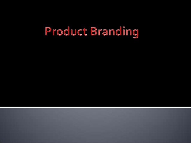   A brand is a collection of images and    ideas representing an economic producer;    more specifically, it refers to t...