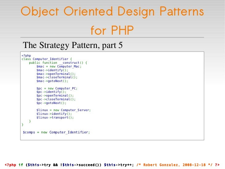 Reviews - Title: PHP|Architect's Guide to PHP Design Patterns
