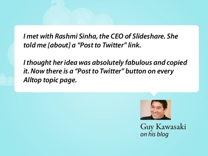 How SlideShare uses Twitter - Delhi Twestival 2009
