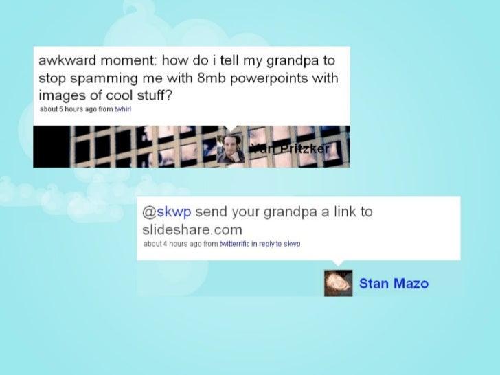 It's okay to eavesdrop on Twitter :)