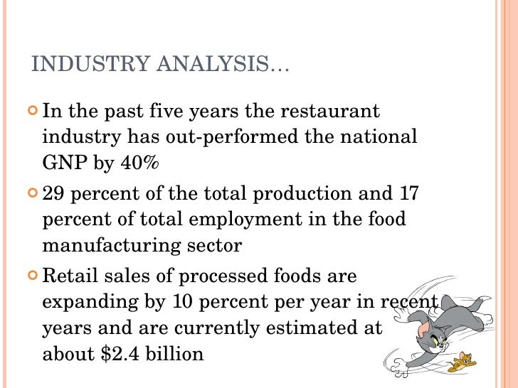Descriptions of the industry business plans