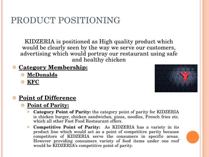 Product Positioning Strategy Example