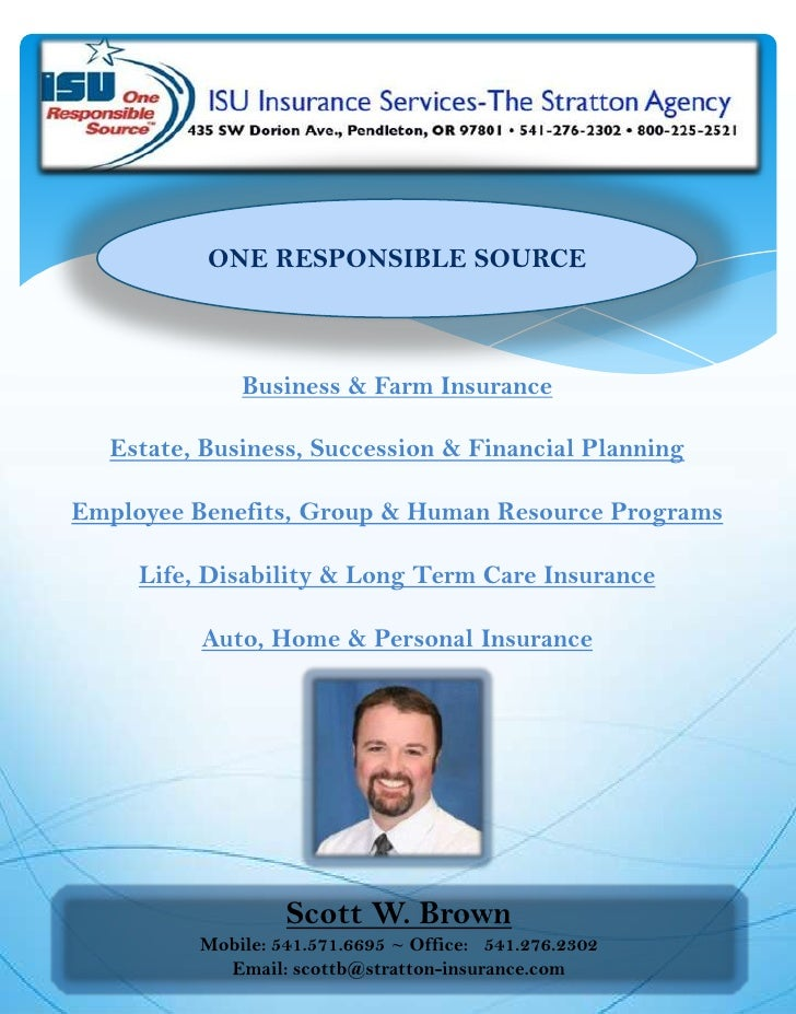 ONE RESPONSIBLE SOURCE<br />Business & Farm Insurance<br />Estate, Business, Succession & Financial Planning<br />Employee...